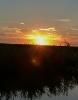 Sonnenuntergang am Siel